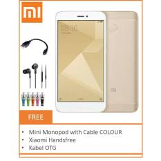 Xiaomi Redmi 4X 4G Lte 32Gb 3Gb Gold Xiaomi Diskon 30