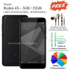 Xiaomi Redmi 4X Prime - Ram 3GB - Rom 32GB - 4G - Garansi Resmi - Black