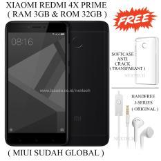 Perbandingan Harga Xiaomi Redmi 4X Prime Ram 3Gb Rom 32Gb Black Di Dki Jakarta