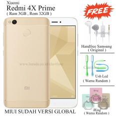 Xiaomi Redmi 4X Prime - Ram 3GB - Rom 32GB - Fingerprint - Gold