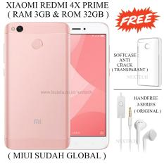 Review Xiaomi Redmi 4X Prime Ram 3Gb Rom 32Gb Rose Gold