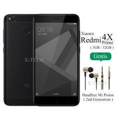 Xiaomi Redmi 4X Prime - Ram 3GB - Rom 32GB - Hitam