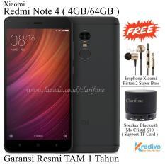 Diskon Xiaomi Redmi Note 4 Ram 4Gb Rom 64Gb 4G Garansi Resmi Matte Black Dki Jakarta