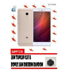 Xiaomi Redmi Note 4 3/32GB Gold Garansi Resmi Free Jam Tangan