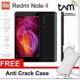 Toko Xiaomi Redmi Note 4 3Gb 32Gb Snapdragon Black Garansi Resmi Tam Free Anti Cr*ck Softcase Xiaomi Di Indonesia