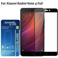 Spesifikasi Xiaomi Redmi Note 4 Screen Protector 3D Glass Ranmel Glass 3D Full Tempered Glass Screen Protector For Xiaomi Redmi Note 4 Full Hitam Ranmel Glass Terbaru