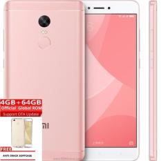 Toko Xiaomi Redmi Note 4X 4Gb 64Gb Rose Gold Grs Distributor 1 Thn Free Anti Cr*Ck Softcase Online
