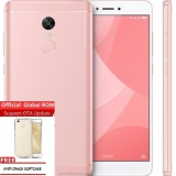 Harga Xiaomi Redmi Note 4X Snapdragon 3Gb 16Gb Rose Gold Grs Distributor 1 Tahun Free Anti Cr*ck Softcase Branded