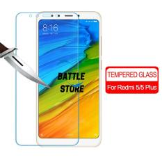 Xiaomi Redmi 5 Plus Screen Protector Tempered Glass / Anti Gores Kaca - White Clear