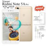 Harga Xiaomi Redmi Note 5A Pro Ram 4Gb Rom 64Gb 4G Lte Fingerprint Fullset Murah