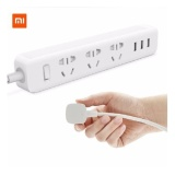 Spesifikasi Xiaomi Smart Power Strip 3 Plug Dengan 3 Usb Port 2A White Yg Baik