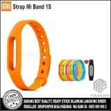 Situs Review Xiaomi Strap Mi Band 1S Pulse Orange