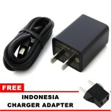 Jual Xiaomi Travel Adapter Charger 5V 2A Hitam Lengkap