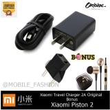 Toko Xiaomi Travel Charger 2A Fast Charge Original Gratis Handsfree Xiaomi Piston 2Nd Gen Hitam Online