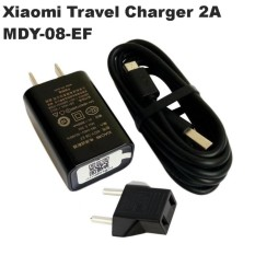 Xiaomi Travel Charger 2A Fast Charging for Redmi/Redmi Note/All Smartphone Xiaomi