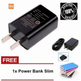 Beli Xiaomi Travel Charger 2A Fast Charging Free Power Bank Slim Dengan Kartu Kredit