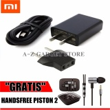 Toko Xiaomi Travel Charger Adapter 2A Fast Charging Gratis Handsfree Xiaomi Piston 2Nd Xiaomi Indonesia