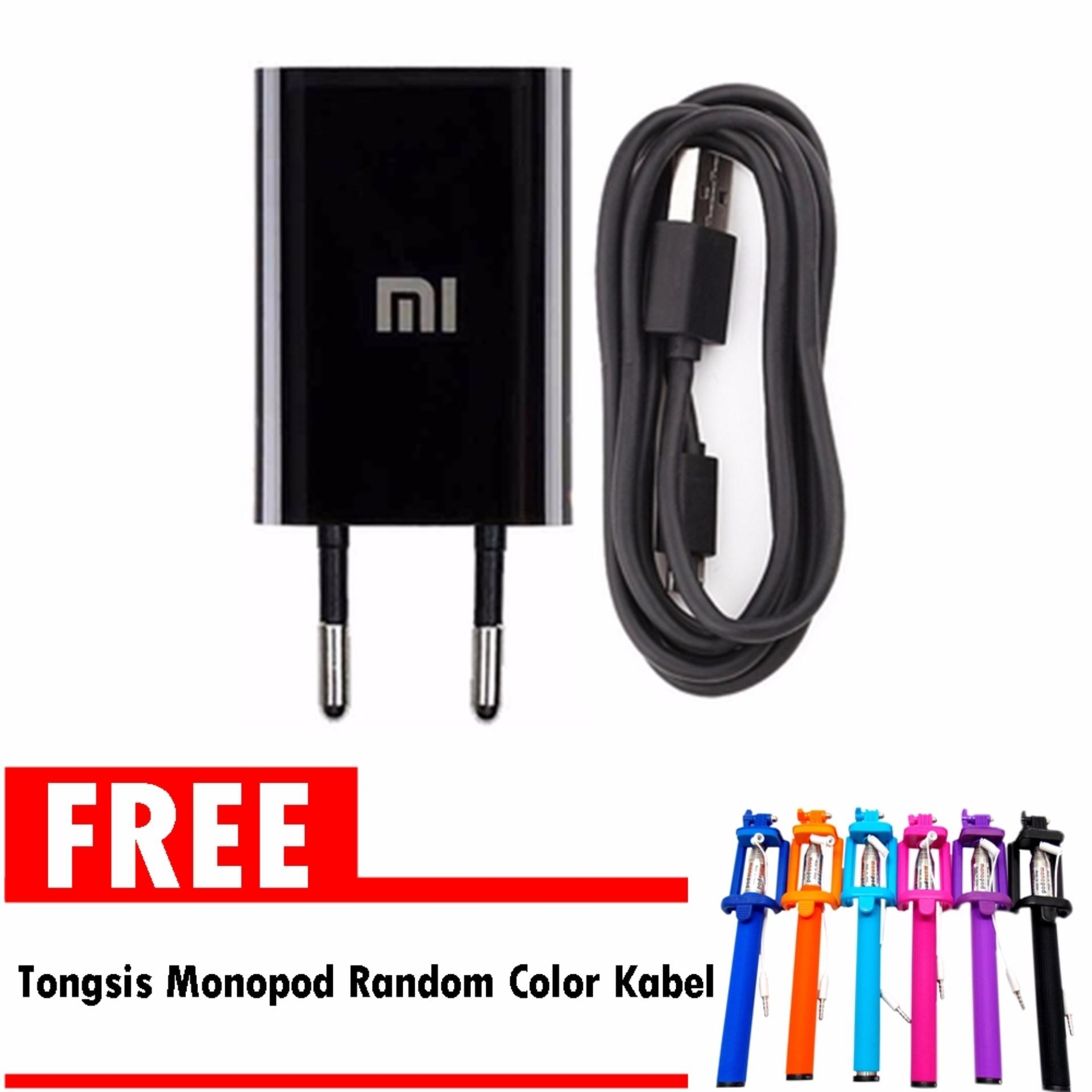 Beli Xiaomi Travel Charger Original Gratis Tongsis Lipat Kabel Selfie Stick Cable Cicilan