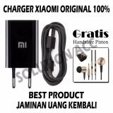 Spesifikasi Xiaomi Travel Charger Original Fast Charging 5V 2A Free Handsfree Piston 2Nd Generation Murah Berkualitas