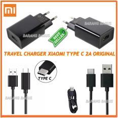 Xiaomi Travel Charger Type C - 2A For Mi 4c / Mi 5 Original 100% ( barang bagus )