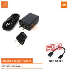 Xiaomi Travel Charger Type-C 5V 2A For Xiaomi Mi4c + Free OTG Cable