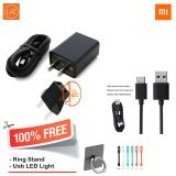 Beli Xiaomi Travel Charger Type C 5V 2A For Xiaomi Mi4C Original Free Ring Stang Usb Led Light Cicil