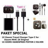 Jual Xiaomi Travel Charger Type C For Xiaomi Mi4C 2A Original Earphone Big Bass Piston Mi 2Nd Generation Handsfree Headset Branded Murah