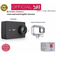 Xiaomi YI 4k+ action camera with waterproof case