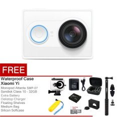 Promo Xiaomi Yi Action Camera 16 Mp Putih Gratis All Package South Sumatra