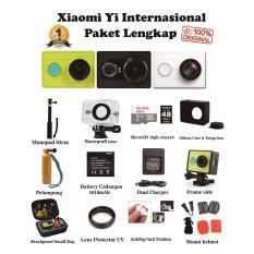 Xiaomi Yi Action Camera Internasional Paket Lengkap