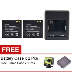Beli Xiaomi Yi Complete Set Battery Charger Gratis Side Frame Casing For Xiaomi Yi Battery Case Kredit Indonesia