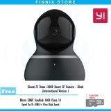 Jual Xiaomi Yi Dome 1080P Smart Ip Camera International Version Free Sandisk 16Gb Black Xiaomi Ori