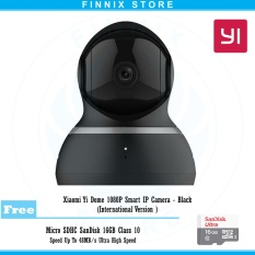 Xiaomi Yi Dome 1080P Smart IP Camera International Version Bundle SanDisk 16GB
