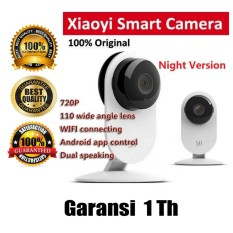 Promo!! Xiaomi Yi Home 720P Camera CCTV IP Camera International Version Flash Sale