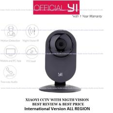 Promo Xiaomi Xiaoyi Yi Home 720P Camera Cctv Ip Camera International Version Hitam Dki Jakarta