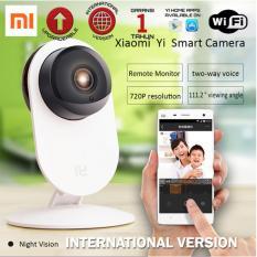 Jual Xiaomi Yi Home Yi Dome Ip Camera Internasional Version Kamera Cctv Putih Di Bawah Harga