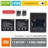 Beli Xiaomi Yi International China Version Complete Set Baterai Battery Charger Murah Dki Jakarta