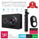 Ulasan Xiaomi Yi International Paket Travel Action Camera Tongsis Shutter Hitam
