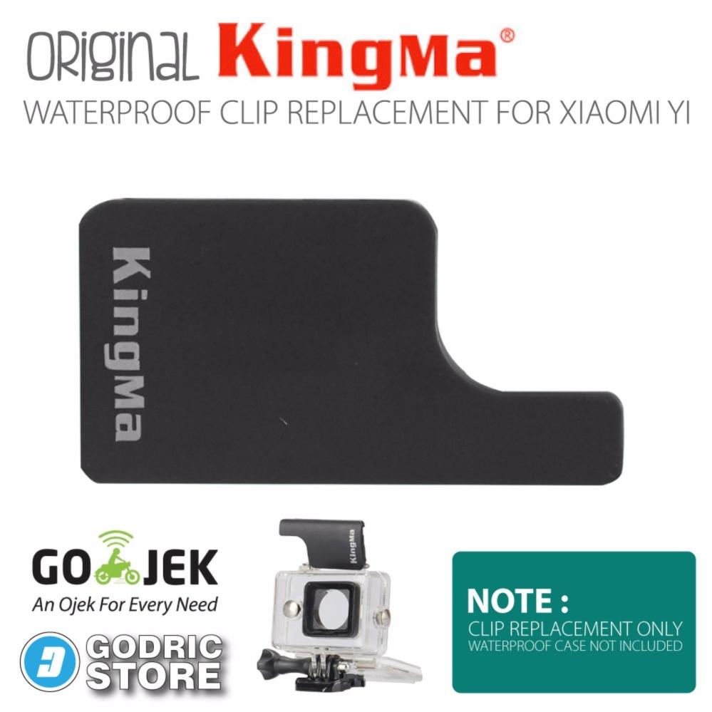 Pencarian Termurah Xiaomi Yi Kingma Waterproof Back Door Lock Clip Replacement - Hitam harga penawaran -