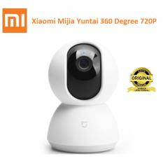 Xiaomi Yi Mijia Yuntai Smart Dome Kamera WiFi Wireless IP 360 Angle IP Camera CCTV 720P - Putih