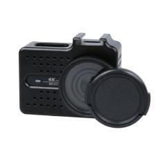 Tips Beli Xiaoyi Yi Ii 4K Sport Action Camera Cnc Aluminum Alloy Housingprotective Case With Lens Protective Cap Black Intl Yang Bagus