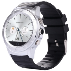 Toko Xingdoz G601 1 22 Inch Round Dial Smartwatch Phone Mtk6260 Ips Screen Pedometer Sedentary Reminder Heart Rate Monitor Bluetooth 3 4 Silver Intl Timezone Online