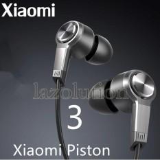 Xiomi Handsfree Piston 3rd Generation Original - Hitam