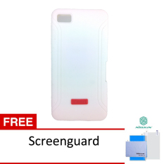 Xmart Softcase Blackberry Z10 Silicone Cell - Putih + Gratis Screen Guard