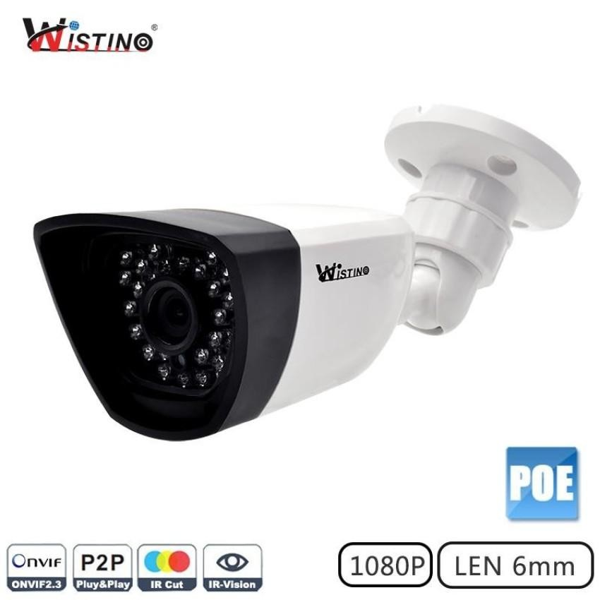Xmeye Poe Ip Camera 6 0Mm Cctv Camera Outdoor Night Vision Hd 1080P P2P Surveillance Video Monitor 2Mp Onvif Wistino Intl Tiongkok