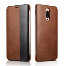 XOOMZ untuk Huawei Mate 9 Pro Cover Capa Jendela Genuine Leather Smart Flip Case untuk HUAWEI Mate 9 Porsche Desain Mate9 Pro Case 5.5 Inch-Intl