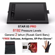 XP-Pen Star 03PRO Graphics Drawing Pen Drawing Tablet Bonus Melimpah