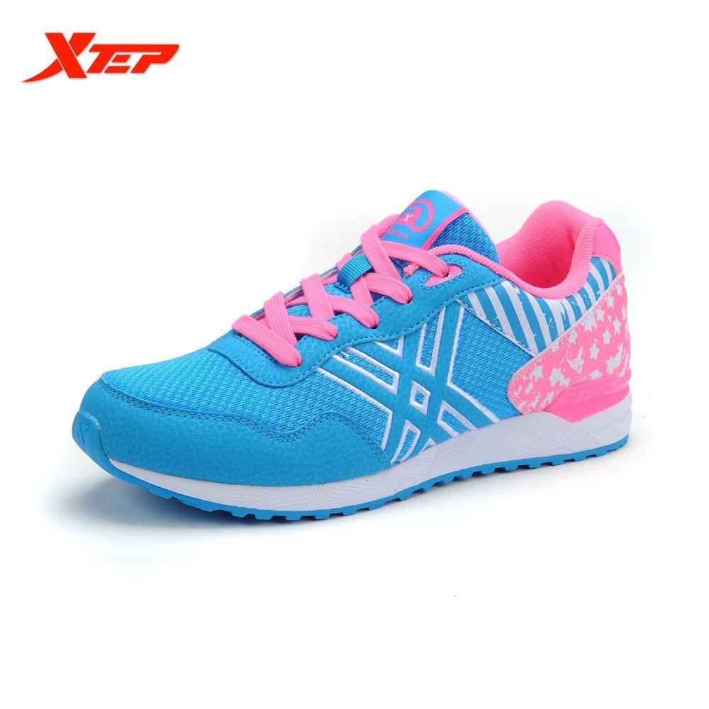 Spesifikasi Xtep Wanita Sepatu Kets Wanita Sepatu Atletik Biru Yg Baik