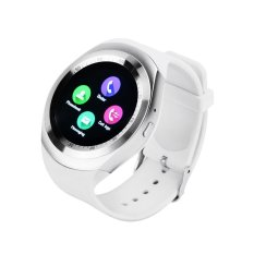 Jual Y1 Smart Watch 1 54 Touch Screen Fitness Activity Tracker Tidur Monitor Pedometer Kalori Track Penopang Sim Kartu Intl Baru
