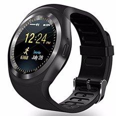 Y1 Smart Watchs Round Mendukung Nano Sim & TF Kartu With WhatsApp) dan Facebook Pria Wanita Bisnis Smartwatch For IOS Androi